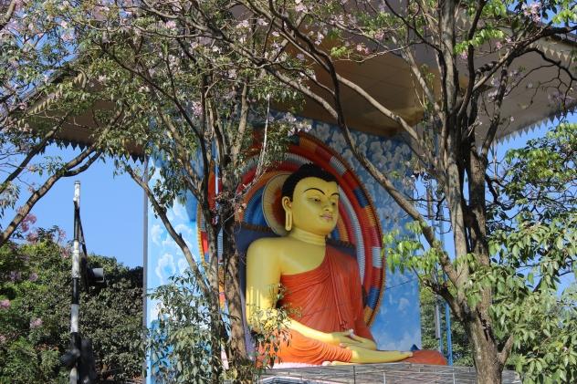 Buddhist shrine in Sri Lanka