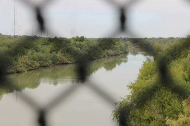 Texas, Mexico, river, fence and questions