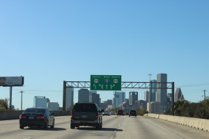 Houston, Texas USA: City of cars