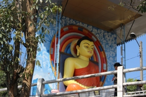 Statue of Buddha in Kandy, Sri Lanka