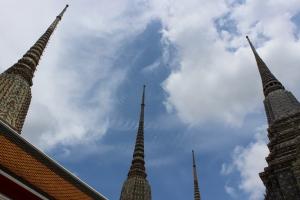 In Spires In Thailand