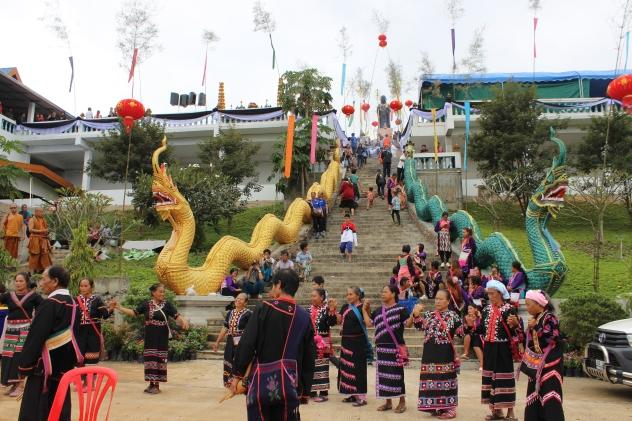 Kwan Yin Fest near Chiang Dao, Thailand